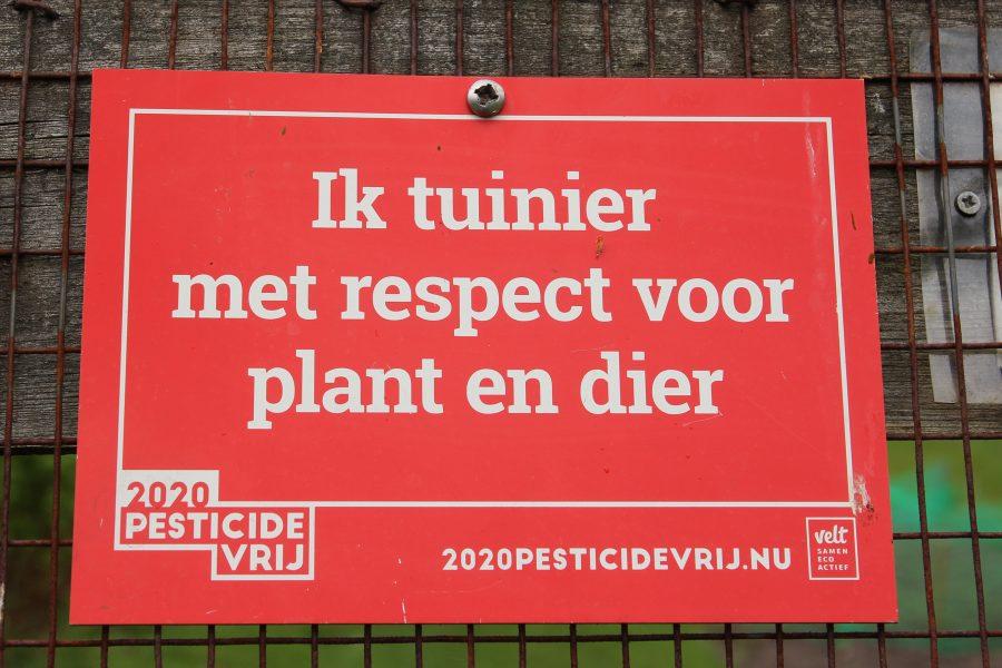 Ik tuinier met respect voor mens en dier