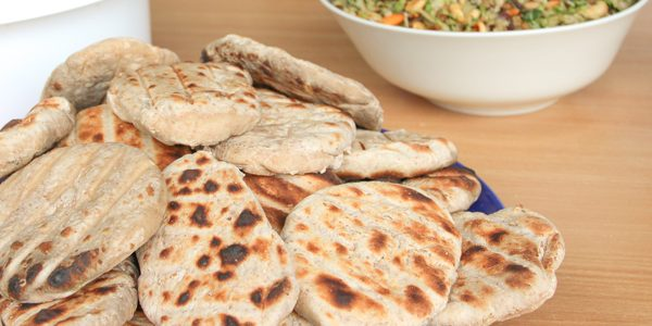 Naan-brood