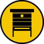 icoon bijenkast