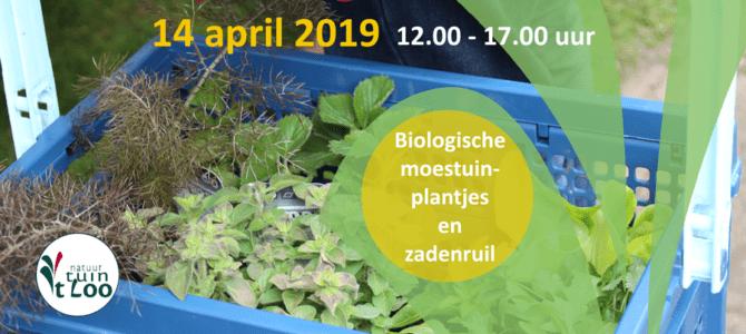 14 april 2019: Opening Tuinseizoen met biologische plantjesmarkt en zadenruil
